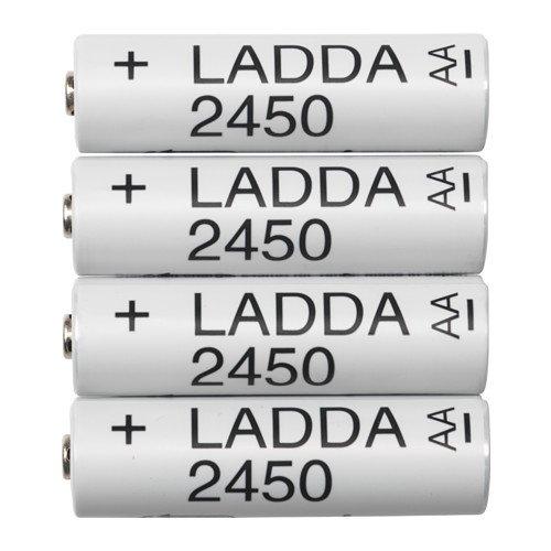 Ikea ladda AA Battery rechargeable 2450 mAz