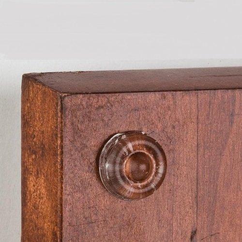 Sound Dampening Door Bumpers, 1/2″ Diameter, Sheet of 100