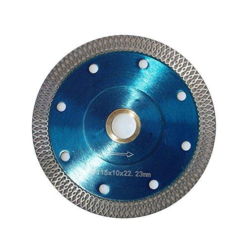 4.5-5/8-Inch Diamond Saw Blade for Cutting Granite Ceramic Marble Porcelain Tiles (Cut Ceramic)
