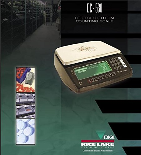 Rice Lake DIGI DC530 Precision High Resolution Counting Scale 20 lb x 0.0002 lb, Platter 13