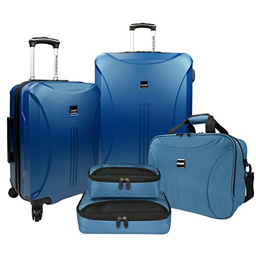 us-traveler-skyscraper-hardside-spinner-tote-packing-5-piece-cube-set-steel-blue