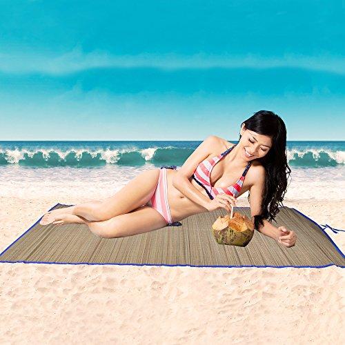 Straw Beach Mat -