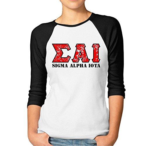 SAI Sigma Alpha Iota Black For Women Team Matching (Iota Game)