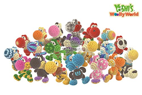 CGC Huge Poster - Yoshi's Woolly World Nintendo Wii U 3DS - EXT189 (24' x 36' (61cm x 91.5cm))