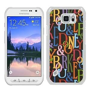 Dooney Bourke DB 02 White Special Custom Picture Design Samsung Galaxy S6 Active Phone Case