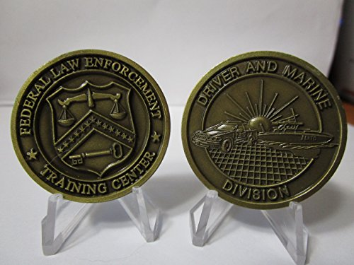Federal Law Enforcement Training Center Driver & Marine Division FLETC Challenge Coin