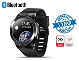 Supreno Advanced S99 Touchscreen Bluetooth Smartwatch With Sim Card Support, Google Navigation, Active Heart Rate Monitor and HD Camera Compatible With Xiaomi Mi, Apple iPhone & iPad, Samsung, Sony, Lenovo, Oppo, Vivo and All Smartphones (1 Year Warranty, Assorted Colour)