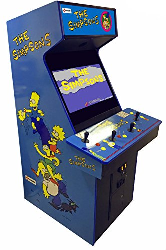 Konami Simpsons 4 Player Arcade Game