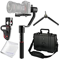 MOZA Air 3-Axis Handheld Gimbal Camera Stabilizer With Dual Handle Grip + MOZA Multiple-functional Wireless Thumb Controller Features Support Cameras Weights between 1.1Lb/500g and 5.5Lb/2500g