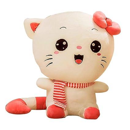 Plushtoy Gato Lindo Juguete de Peluche muñeca de Trapo, Acolchado Suave Figura de muñeca de