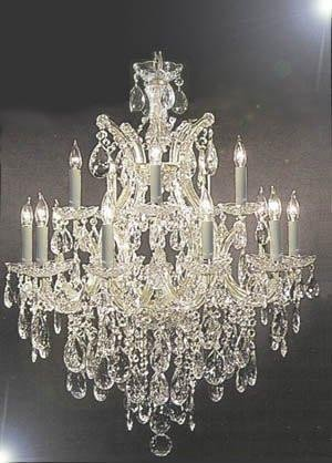 - Maria Theresa Chandelier Made with Swarovski Crystal Lighting Chandeliers H30