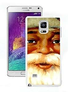 Personalization Santa Claus White Samsung Galaxy Note 4 Case 14
