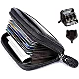 Cable Hunter® Leather Business RFID Credit Card Holder