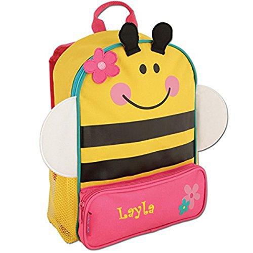 Personalized Bumble Bee Sidekick Backpack - CUSTOM NAME (Toddler Bee Bumble Cap)