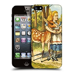 Case Fun Apple iPhone 5 / 5S Case - Vogue Version - 3D Full Wrap - Alice in Wonderland The Fern