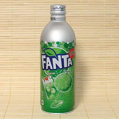 Fanta Melon/Edition Limited from Japan / 1 Bottle 500 ml (Japanese Soda Melon)
