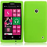 Lite Green Soft Premium Silicone Case Cover Skin Protector for Nokia Lumia 521 (by AT&T / Metro PCS / T-Mobile...