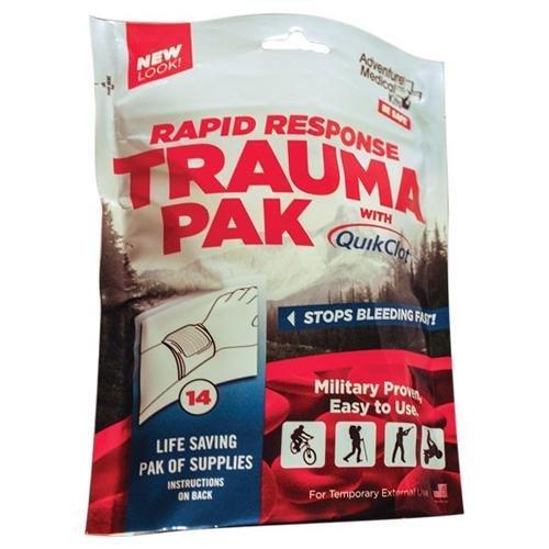 Rapid Response Trauma Pak with Quikclot by Adventure Medical Kits