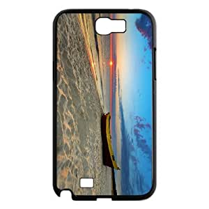 YCHZH Phone case Of Flood Boat Cover Case For Samsung Galaxy Note 2 N7100