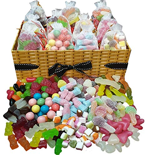Chocolate Gift Retro Sweets Hamper Box Sweets Pick and Mix Hamper