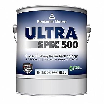 Ordinaire Benjamin Moore Ultra Spec 500 Interior Paint   Eggshell Finish (Gallon,  White)