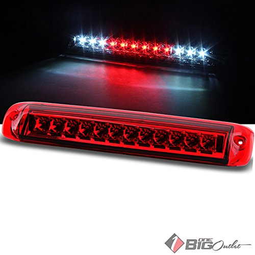 For 1999-2006 Silverado/Sierra, 2007 Classic Red LED 3rd Brake Light LED Cargo Reverse Pair L+R 2000 2001 2002 2003 2004