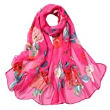 Crochet Scarf Scarf for Women Knitted Scarf Silk Shawl Scarves Featurestop