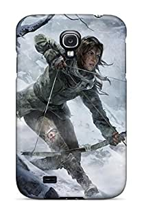 Bareetttt XlggxNB5247Udbmm Case For Galaxy S4 With Nice Rise Of The Tomb Raider 2015 Game Appearance