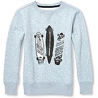 The Children's Place Big Boys' Graphic Fleece Sweatshirt