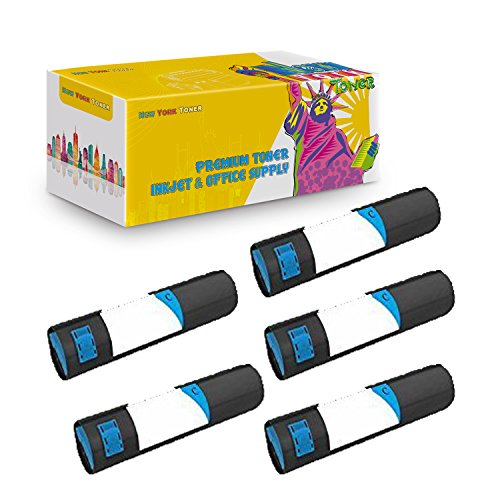 New York TonerTM New Compatible 5 Pack Xerox 116R01160 High Yield Toner for Xerox - Phaser: Phaser 7760 . -- Cyan