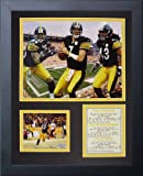 #10: Legends Never Die Pittsburgh Steelers 2000's Big 3 Framed Photo Collage, 11x14-Inch