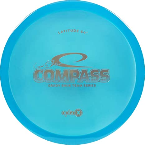 238813653c6 Latitude 64 Limited Edition 2019 Team Series Grady Shue Opto-X Compass  Midrange Golf Disc