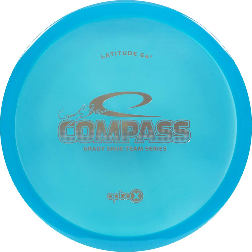 Latitude 64 Limited Edition 2019 Team Series Grady Shue Opto-X Compass Midrange Golf Disc [Colors May Vary] - 173-176g