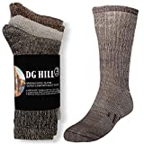 3 Pairs Thermal 80% Merino Wool Socks Hiking