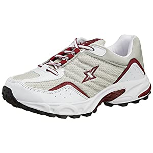 Sparx Men's Silver and Red Running Shoes – 10 UK (SM-04)