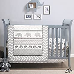 Elephant Walk 4-Piece Jungle Geometric C...
