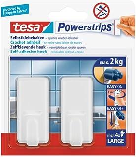 tesa 6 x Powerstrips Hakenleiste Large wei/ß VE=1 St/ück