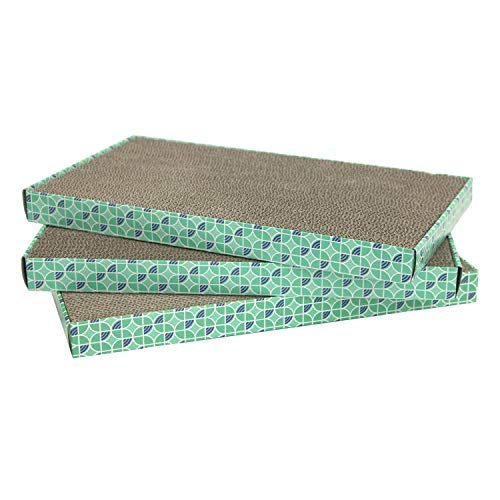 - Kitty City XL Wide Corrugate Cat Scratchers 3 Pieces, Cat Scratching, Cat Scratch Pad