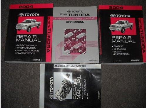 2004 Toyota Tundra Repair Manual 2 Volume Set Amazon Rhamazon: 2004 Toyota Tundra Wiring Diagram At Gmaili.net