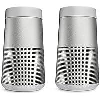 Bose 2x SoundLink Revolve Bluetooth Speaker, Lux Gray