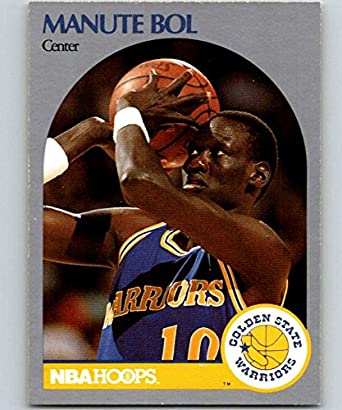 2c7fc8510 Amazon.com  1990-91 Hoops  112 Manute Bol SP Warriors NBA Basketball ...