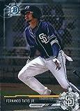 2017 Bowman Chrome Prospects #BCP160 Fernando Tatis Jr. San Diego Padres Baseball Card