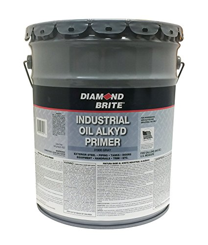 Diamond Brite Paint 31900 5-Gallon Oil Base Primer, Grey