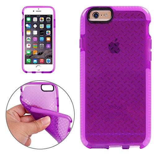 Phone Taschen & Schalen Für iPhone 6 Plus & 6s Plus Reiskorn Pattern TPU Schutzhülle ( Color : Purple )