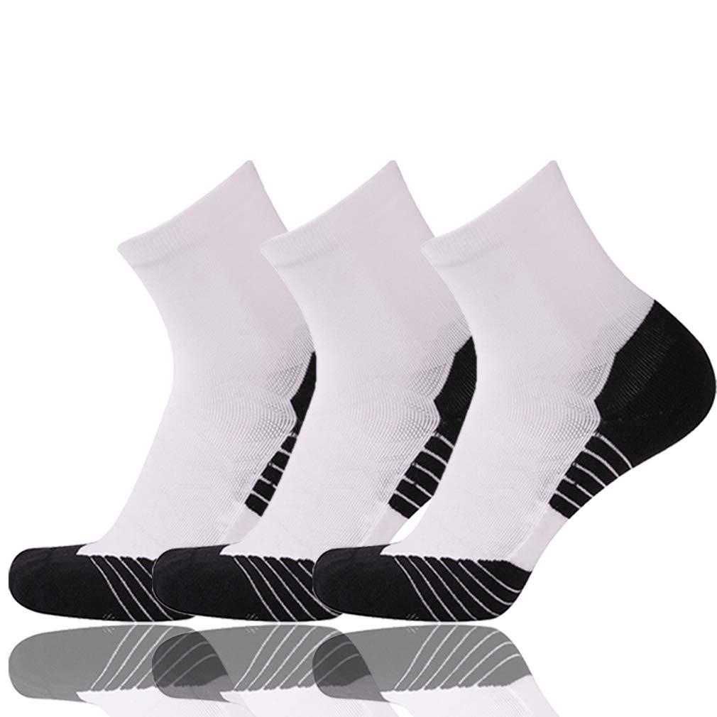 NIcool SOCKSHOSIERY レディース US サイズ: One Size カラー: マルチカラー B07CG7MV4C 05/ 3 Pairs/White  05/ 3 Pairs/White