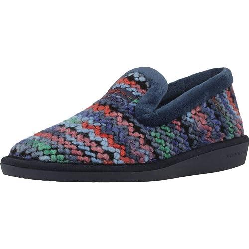 Zapatillas de Estar por casa de Mujer, Color Azul, Marca NORDIKAS, Modelo Zapatillas De Estar por Casa De Mujer NORDIKAS 305 4 Azul: Amazon.es: Zapatos y ...