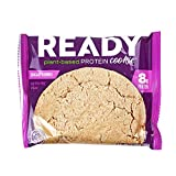 Ready Protein Cookie, 8g Plant-Based Protein for Lean Muscle Mass, Vegan, Non-GMO, Great for Muscle Building, Muscle Recovery and Weight Loss - Sugar Cookie (50g, Pack of 12)