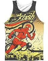 Dc Comics Just Passing Through Mens Sublimation Tank Top Shirt