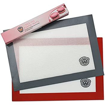Amazon Com Wildcow Silicone Baking Mats Quarter Sheet