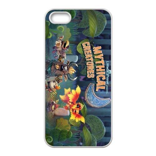 E7N41 LittleBigPlanet K3I4KO coque iPhone 4 4s cellulaire cas de téléphone de couverture coque IJ5UUM0JS blancs
